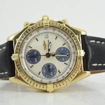 Breitling Chronomat 18k mop dial and deployment buckle