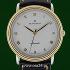 Blancpain Villeret Automatic Date Ultra Slim 18k Gold Steel...