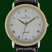 Blancpain Villeret Automatic Date Ultra Slim 18k Gold Steel...