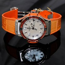 Hublot Big Bang Quartz Steel Tutti Frutti 38mm Ladies Watch...