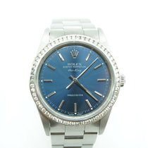 Rolex Airking Precision 36mm Stainless Steel Custom Diamond Bezel