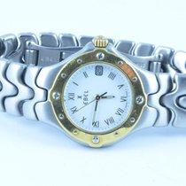 Ebel Sportwave Damen Uhr 25mm Stahl/750 Gold Klassische Uhr...