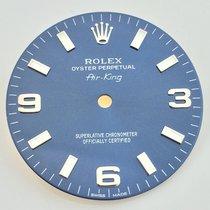 Rolex Air King Dial Quadrante Zifferblatt Blau Blue Bleu