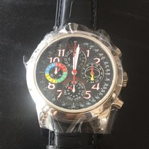Girard Perregaux Enzo Triple Bridge Tourbillon Perp Cal Chrono PT
