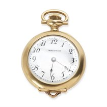 Waltham Circa 1950's Pendant Unisex Watch in 14KT Yellow Gold