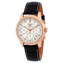Longines Saint-Imier Beige Dial Men's Chronograph Watch