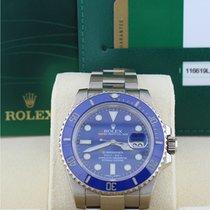 Rolex 116619 Submariner White Gold