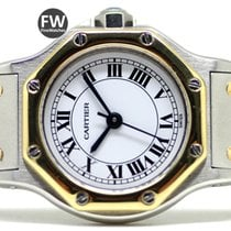 Cartier Santos Ronde Lady Steel & Gold