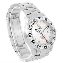 Omega Seamaster Gmt White Dial Automatic Mens Watch 2538.20.00