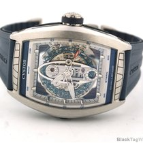 Cvstos Automatic Challenge Sea Liner Skeleton Wood Dial Limited