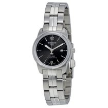 Tissot PR100 Automatic Black Dial Ladies Watch T0493071105700