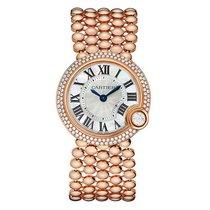 Cartier Ballon Blanc Rose Gold & Diamond Watch