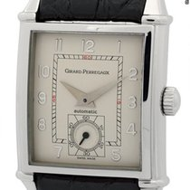 Girard Perregaux Vintage 1945 Stainless Steel Silver Dial 28mm...