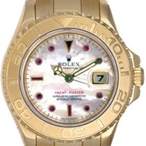 Rolex Ladies Rolex Yacht-Master 2-Tone Watch Mother of Pearl...
