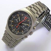 Orfina Porsche Design vintage Herrenuhr Chronograp ca. 1973 NOS