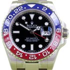 Rolex GMT Master II 116719BLRO 116719 18k White Gold Pepsi Red...