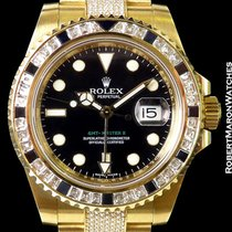Rolex 116758 Sanr Gmt II 18k New