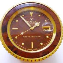 Rolex Time To The Second Konzessionär Tischuhr