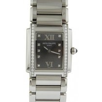 Patek Philippe 4910/10A-010 Twenty~4 Ladies Medium 25 x 30mm...