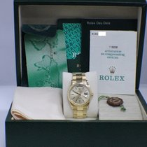 Rolex President Day Date 18K Yellow Gold Oyster Band Box &...