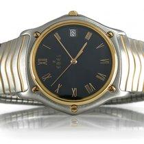 Ebel Sport Classic Wave 34 mm Stahl Gelbgold Quarz [BRORS 12891]