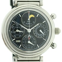 IWC DaVinci Perpetual Chronograph Schwarzes Blatt