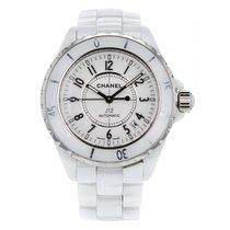 Chanel J12 White Ceramic Automatic Unisex Watch H2126