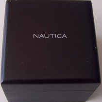 Nautica vintage wooden watch box newoldstock