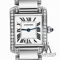 Cartier Ladies Cartier Tank W51008q3 Complete With Box And...