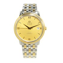 Omega De Ville Gold And Steel Gold Automatic 424.20.37.20.08.001