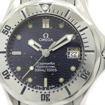 Omega Polished Omega Seamaster Professional 300m Quartz Ladies...