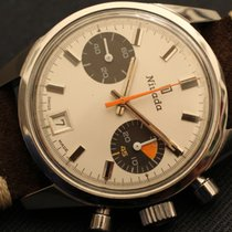 Nivada waterproof regata yacht time vintage chronograph