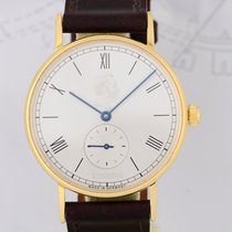Nomos Ludwig 18K Gold roman dial Siemens Dresswatch Klassiker...