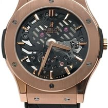 Hublot Classic Fusion Ultra-thin Skeleton 18k Rose Gold King Gold