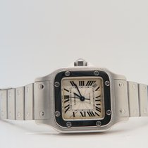 Cartier Santos Galbee Steel Lady Ref 2423 New Model