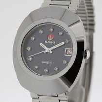 Rado DiaStar Tungsten Diamond Dial Men's Automatic Watch...