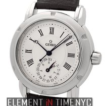 Gevril Day-Date Stainless Steel 38mm Ref. C0111