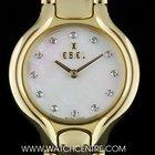 Ebel 18k Y/G MOP Diamond Dial Beluga Ladies B&P E8157411