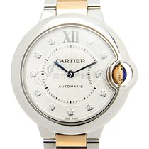 Cartier WE902061 BALLON BLEU DE 33mm STAINLESS STEEL 2016