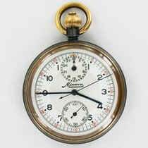 Minerva Taschenuhr - Chronograph for G.P.O - General Post...