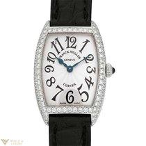 Franck Muller Lady's Curvex WG 18K White Gold Diamonds...