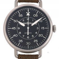 Bell & Ross Vintage WW1-92 Military Stahl Automatik...