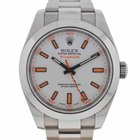 Rolex Milgauss 116400 White Dial Watch