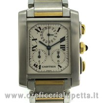 Cartier Tank Francaise Chronoflex 2303