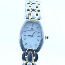 Maurice Lacroix Selena Damen Uhr Stahl/gold Quartz 22mm Weiss...
