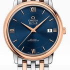 Omega Deville Prestige Co Axial Date in Steel and Rose Gold