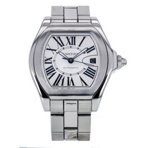 Cartier Roadster S Stainless Steel Automatic Silver Dial...