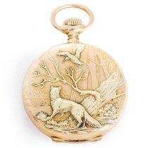 Patek Philippe 18k Yellow Gold Hunting Case Pocket Watch...