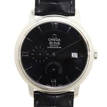 Omega De Ville Stainless Steel Black Automatic 424.13.40.21.01...