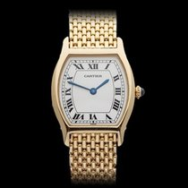 Cartier Tortue Paris 18k Yellow Gold Ladies 156786